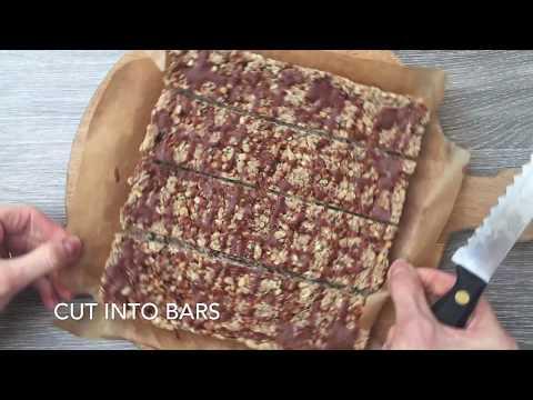 Gluten Free No Bake Protein Bar