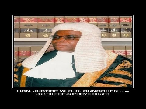 CJN Confirmation screening: Senate  Q&A with Onnoghen