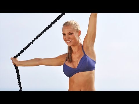 50 Min Full Body Workout with Resistance Band - Music Only