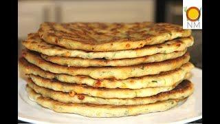 Сколько их не делай, всегда мало! СУПЕР БЫСТРЫЕ лепешки с сыром и зеленью.
