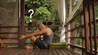 Йога для начинающих. Как сидеть в медитации без позы лотоса.