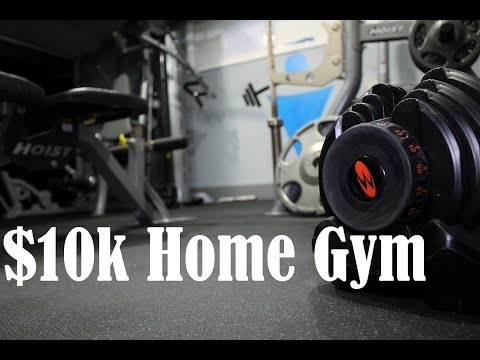The Most Expensive Home Gym on Youtube? – Home Gym Cost with Running Price Totals