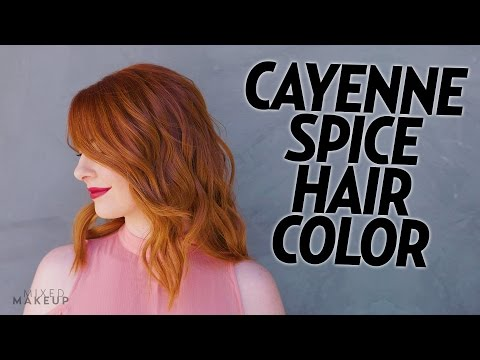 Cayenne Spice Red Hair Color by Nikki Lee of Nine Zero One Salon | Beauty Bytes