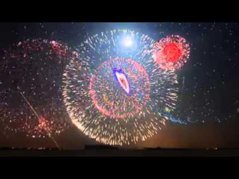 I fuochi d'artificio piú belli del mondo!
