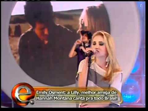 Emily Osment - Let's Be Friends (Live on Programa da Eliana)