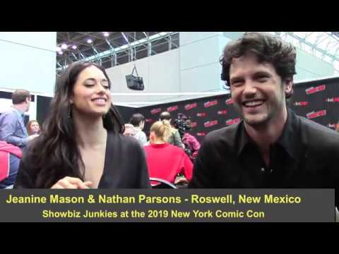 Roswell, New Mexico - Jeanine Mason And Nathan Parsons Interview, Season 2