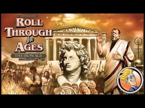 Roll Through the Ages: The Iron Age overview — Spiel 2014