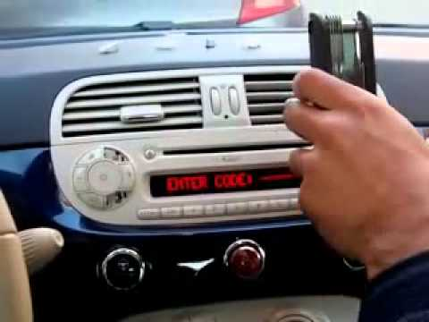 autoradio fiat 500 - youtube