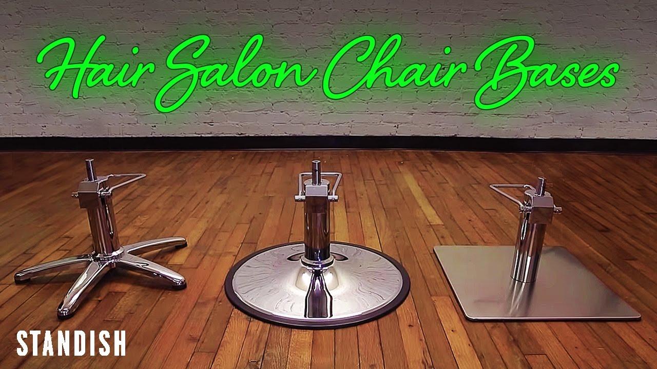 hair salon chair bases standish salon goods youtube