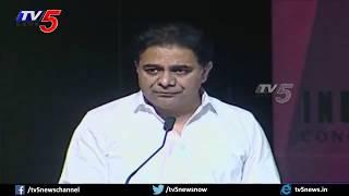IT Minister KTR English Speech on Vfx Animation Production in Telugu Movies | Allu Aravind | TV5