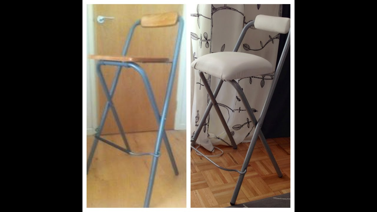 DIY Upholstering Bar Stools   Natalieu0027s Creations   YouTube