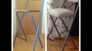 Diy Upholstering Bar Stools - Natalie's Creations