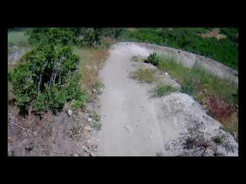 Round 2 in 4K! Mountain Biking Levatate DH! (Draper, Utah)