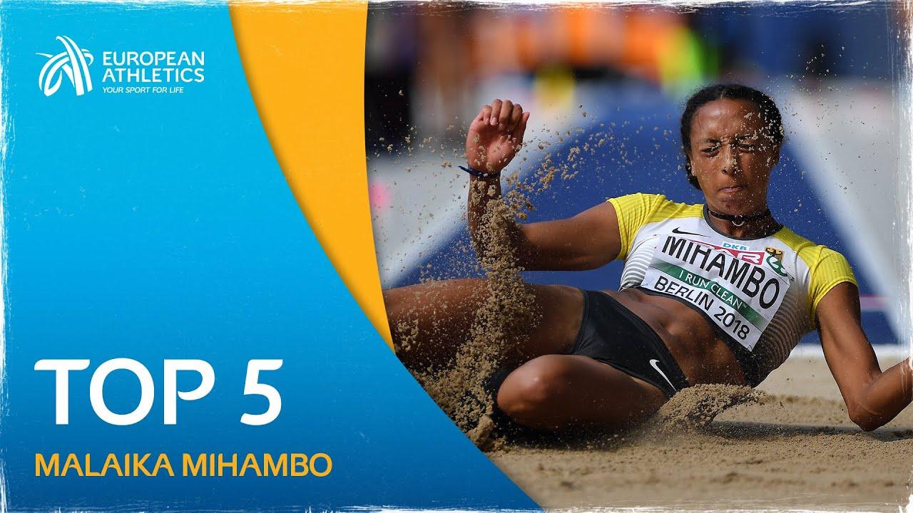 Malaika Mihambo's Top 5 European Championship Performances