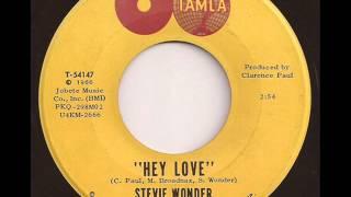 STEVIE WONDER - HEY LOVE (TAMLA)