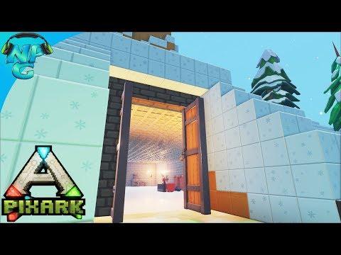 PixARK - Castle in the Mountain and Hidden Water Supplies! E10
