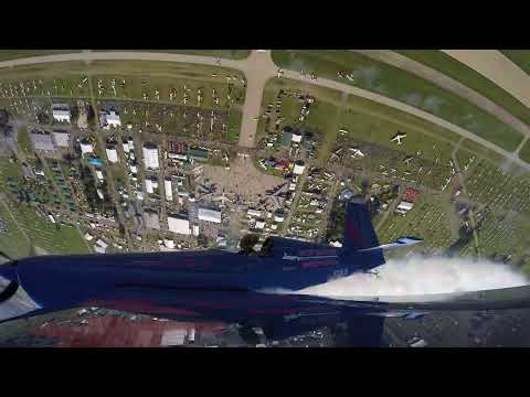 Patty Wagstaff Ride Along Clip - Wing Mount - Oshkosh 2017