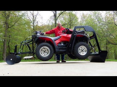 Wild Hare All-in-One ATV attachments System