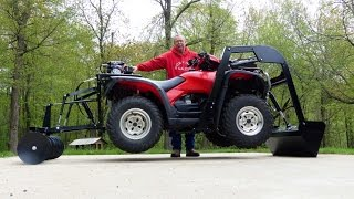 Wild Hare All-in-One ATV attachments System