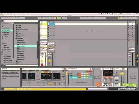 Ableton Live | Creating Custom Riser Sweeps Tutorial | Pyramind