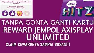 TRIK!!! Reward Jempol AxisPlay Ga Abis-Abis!!!
