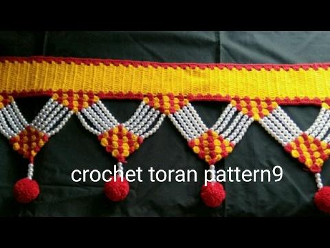 Crochet Toran Pattern 9 How To Make Youtube