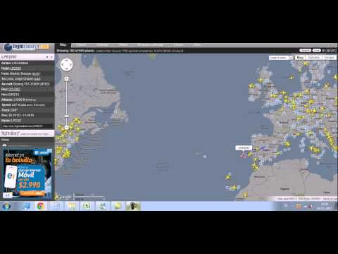 Lan Peru Flight 2707 From Madrid Barajas Spain To Lima Jorge Chavez Boeing 767