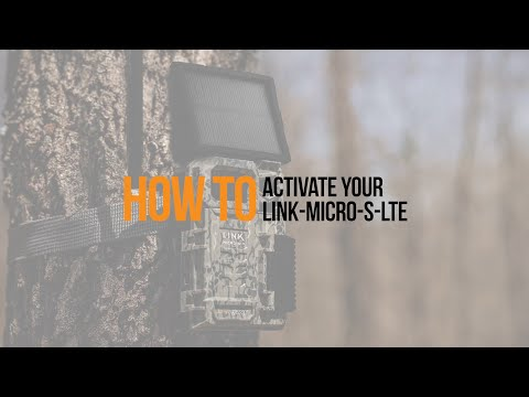 Video: How to Activate your SPYPOINT LINK-MICRO-S-LTE Trail Camera