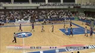 第68回東京国体 少年男子 バスケ決勝 東京 vs 福岡