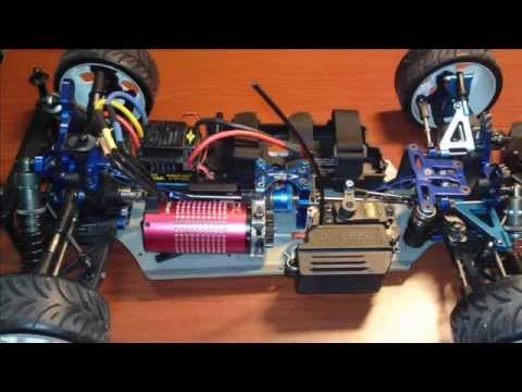 Inferno Mp777 Brushless On Road Conversion Wmv Youtube
