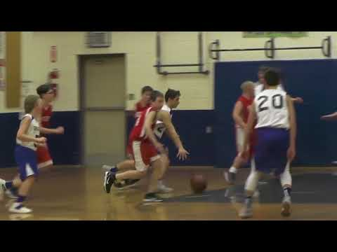 Wiscasset at St. George Middle School Boys Basketball Playoff Game