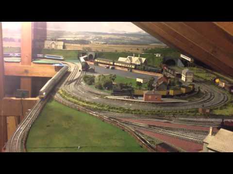 Loft layout.  One Anglia / Railways - Orient Express