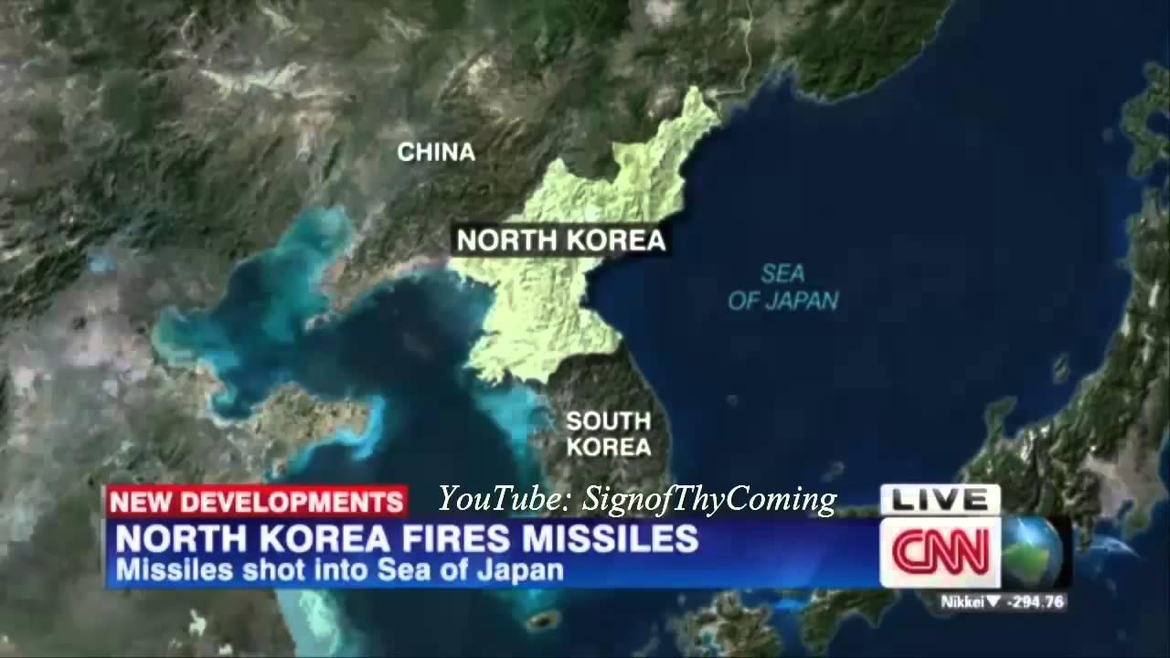 World War 3 : North Korea fires 2 Short Range Ballistic
