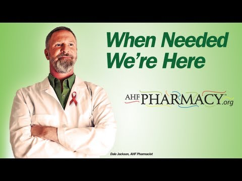 AHF Pharmacy: When Needed, We're Here