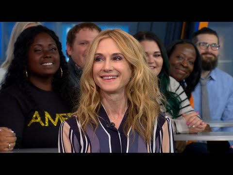 Holly Hunter opens up about 'Here and Now' live on 'GMA'