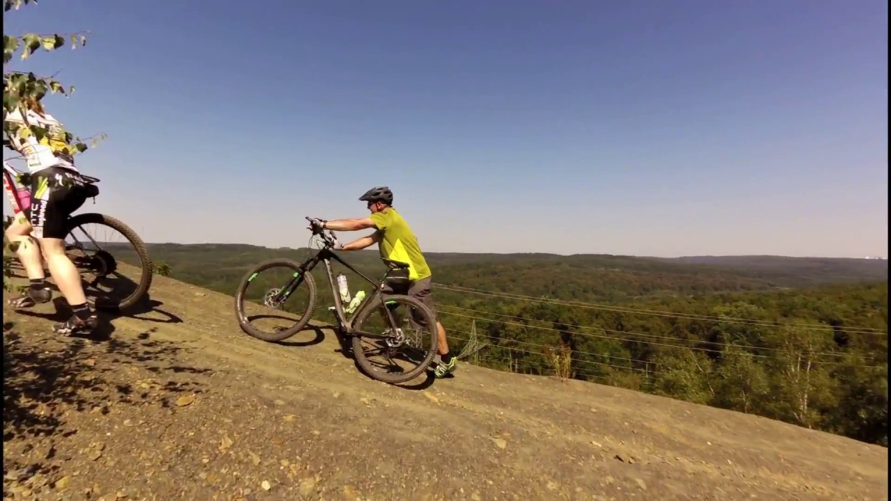 Mountain Bike Cycling Video For Indoor Training 50 Minute Garmin
