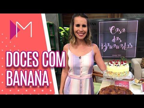 Sabores da cidade: Banana - Mulheres (10/09/2018)