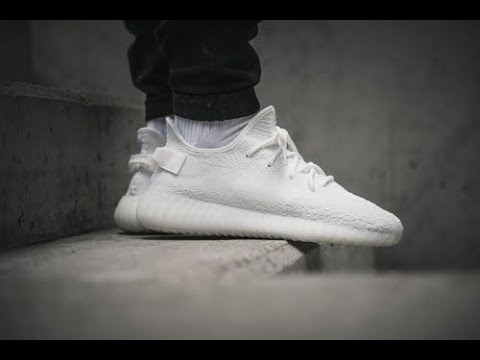 How to clean cream white yeezys in the washing machine!!(make them look brand new)