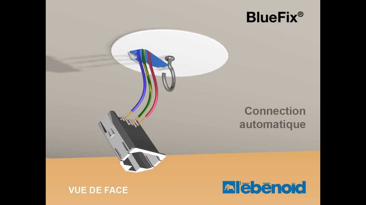 Comment installer une bo te dcl bluefix l 39 b bo d youtube - Installer un plafonnier ...