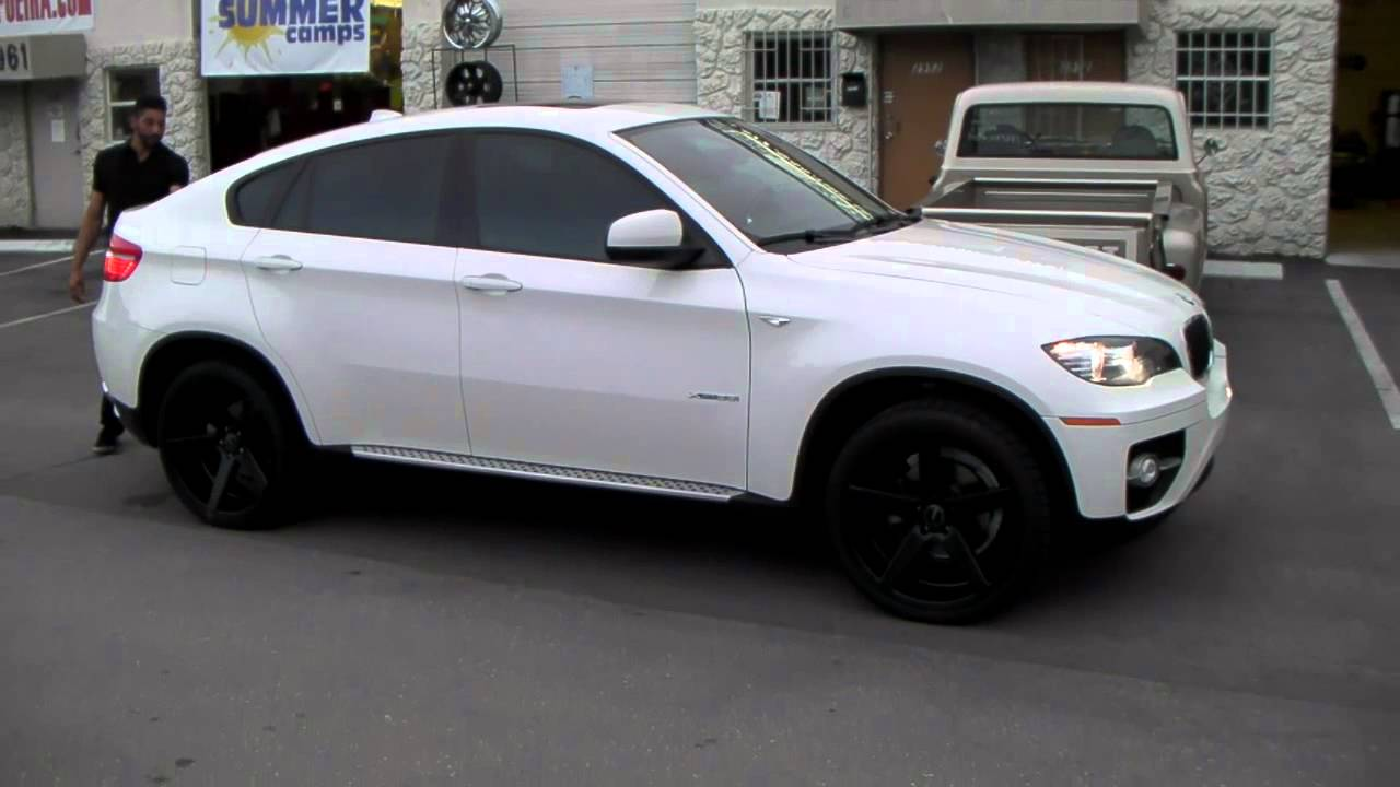 877 544 8473 22 Inch Kmc Km685 District Wheels 2013 Bmw X6