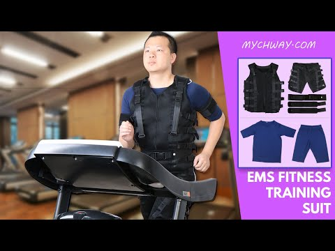 EMS Training - How To Use Electrical Muscle Stimulation Training Suit | ABS  Suit | MyChway 121X1