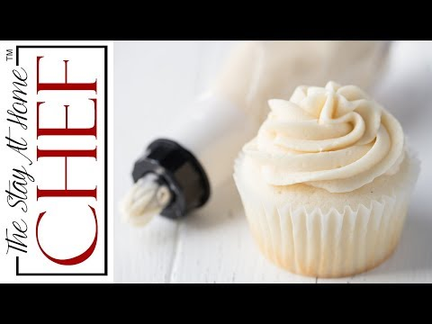 How To Make Perfect Buttercream Frosting | The Stay At Home Chef