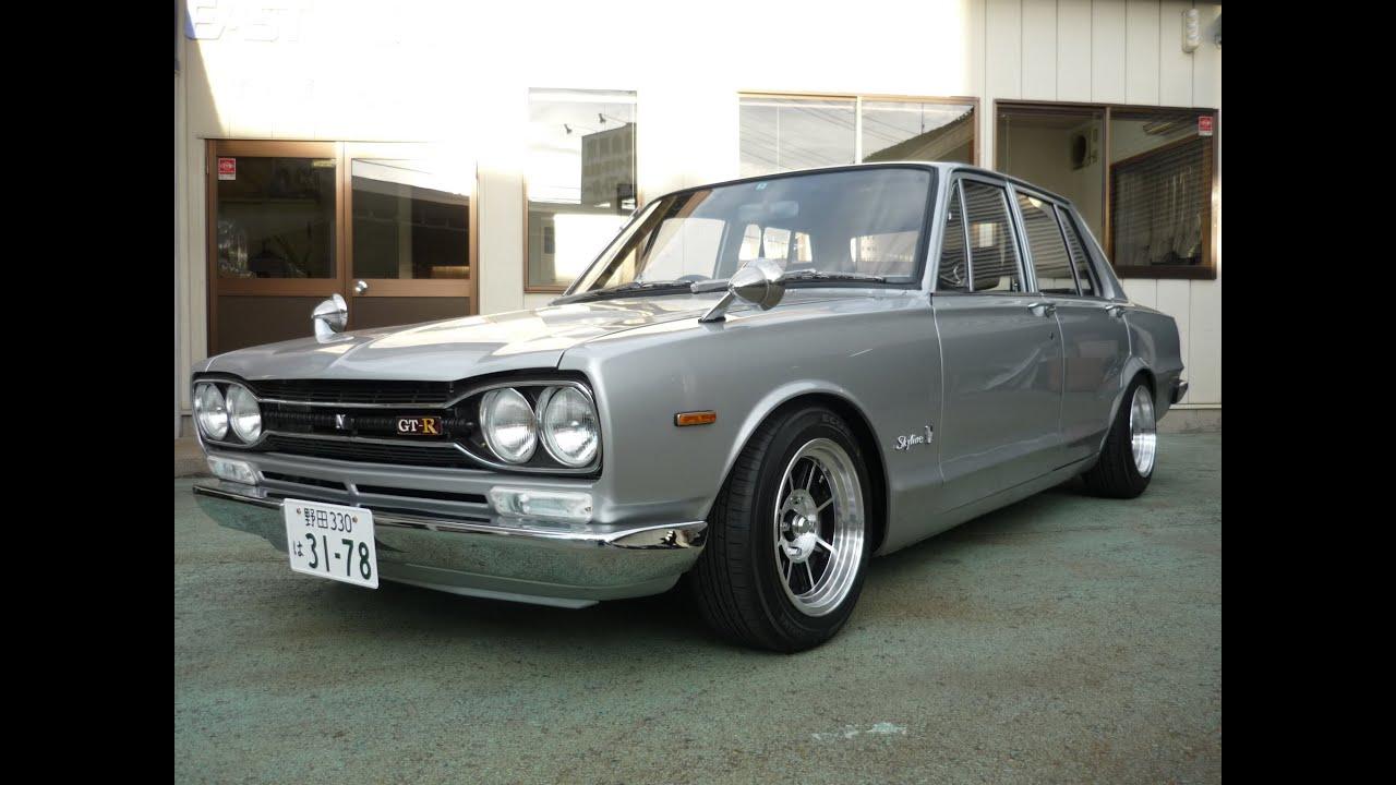 THE仕上げ 45年ハコスカ4DR GTR仕様 - YouTube