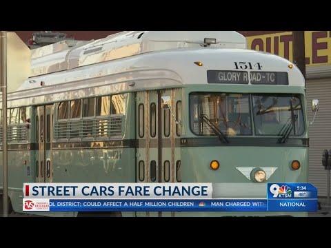 El Paso Streetcar will cost money to ride