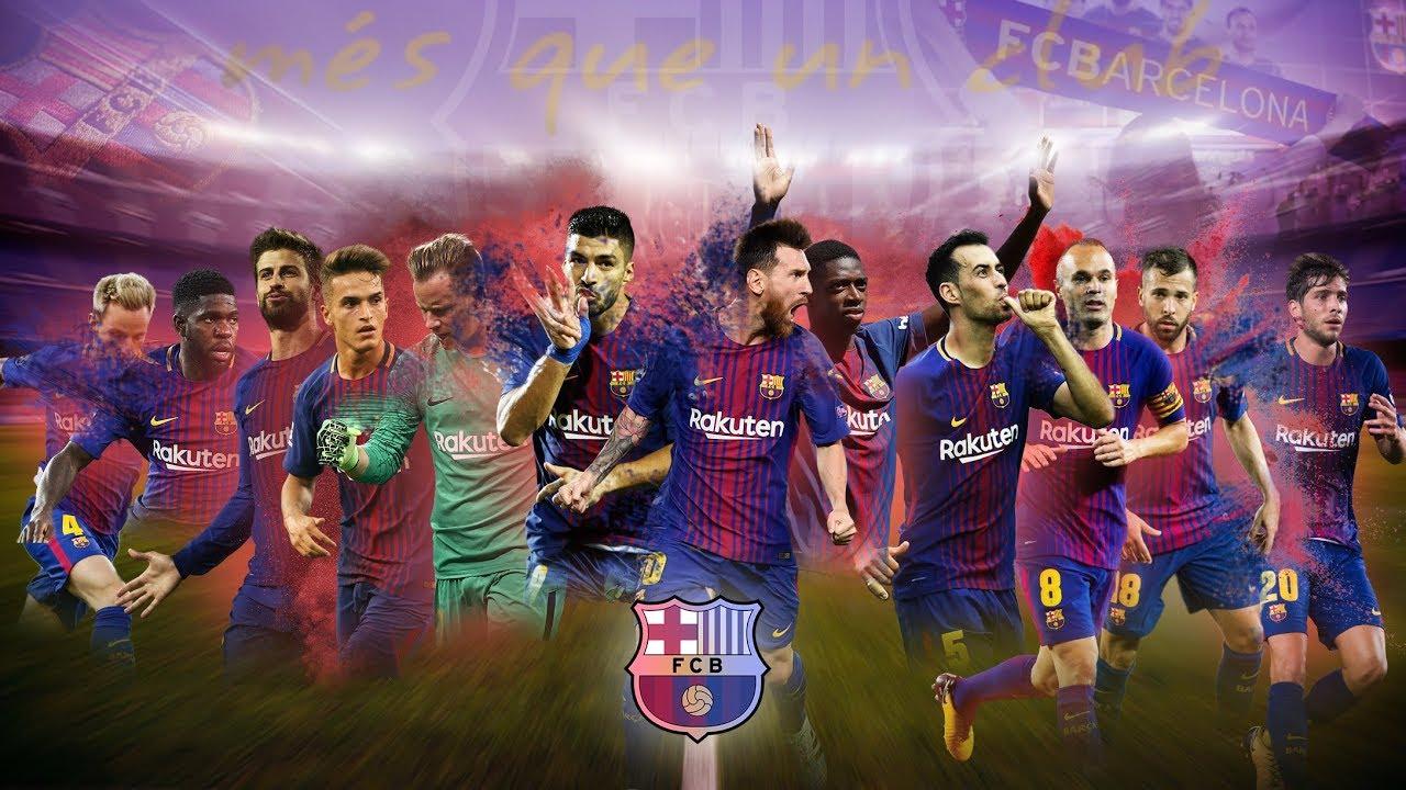 Fc Barcelona Wallpaper Photoshop Speedart Youtube