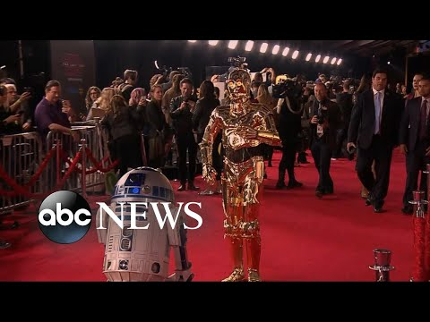 Download Youtube: Inside the 'Star Wars: The Last Jedi' premiere