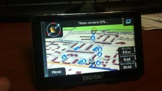 GPS навигатор Digital DGP-5021(, 2017-02-15T22:01:42.000Z)
