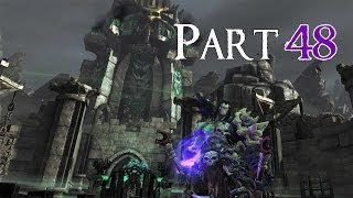 Darksiders II 100% Walkthrough 48 Kingdom of The Dead ( Backtracking ) Sentinel's Gaze