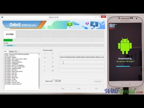 How to Flash Stock Lollipop Firmware for Samsung Galaxy S4 [Odin3 v3.10]