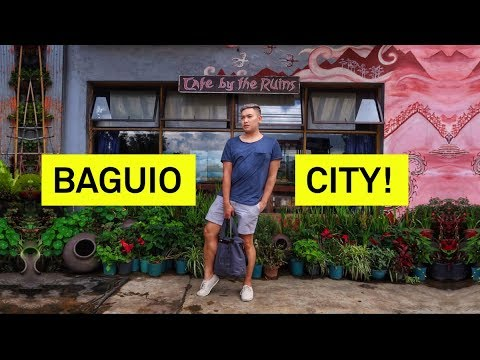 FIRST IMPRESSIONS OF BAGUIO CITY? - RomeAroundTheWorld Philippines 2018 (Day 2)